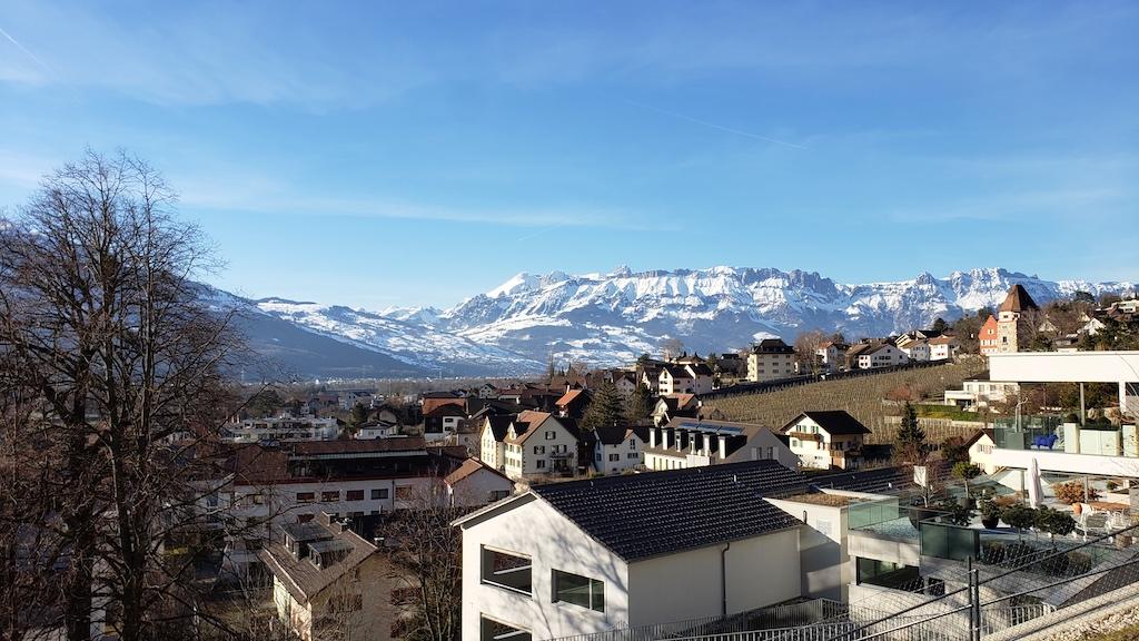 Vaduz, Liechtenstein - Vaduz Castle City View