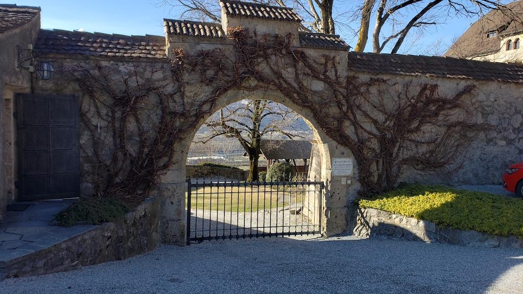 Vaduz, Liechtenstein - Vaduz Castle Entrance