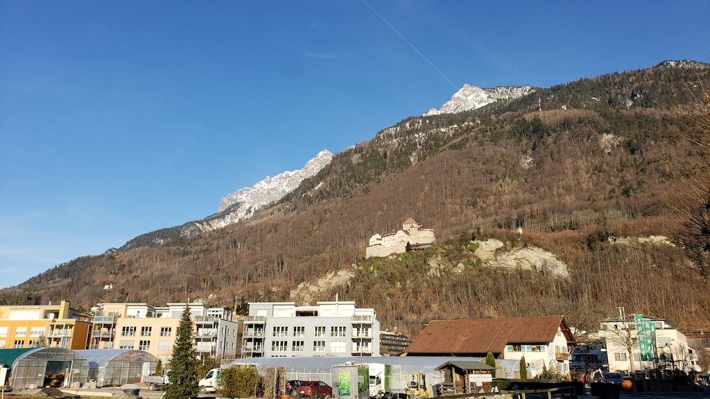 Vaduz, Liechtenstein - Vaduz Castle view from city