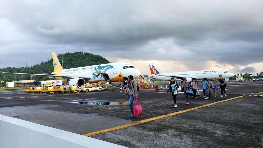 Legazpi Airport, Legazpi, Philippines - Cebu Pacific Air and Philippines Airlines