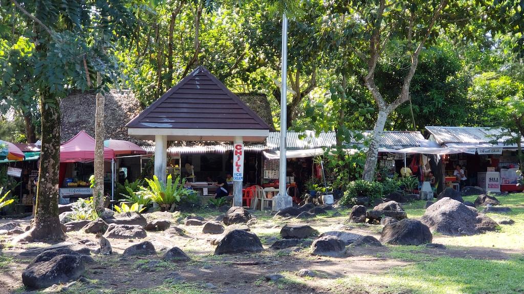 Legazpi, Albay, Philippines - Cagsawa Ruins - Restaurant