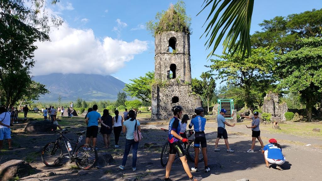 Legazpi, Albay, Philippines - Cagsawa Ruins - Visitors