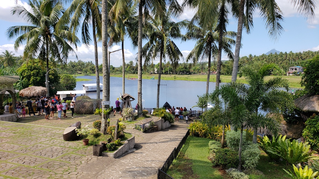 Legazpi, Albay, Philippines - Sumlang Lake Welcome