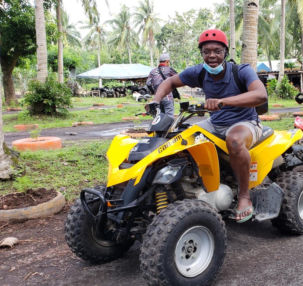 Legazpi, Albay, Philippines - Mayon ATV Tour Kerwin on ATV