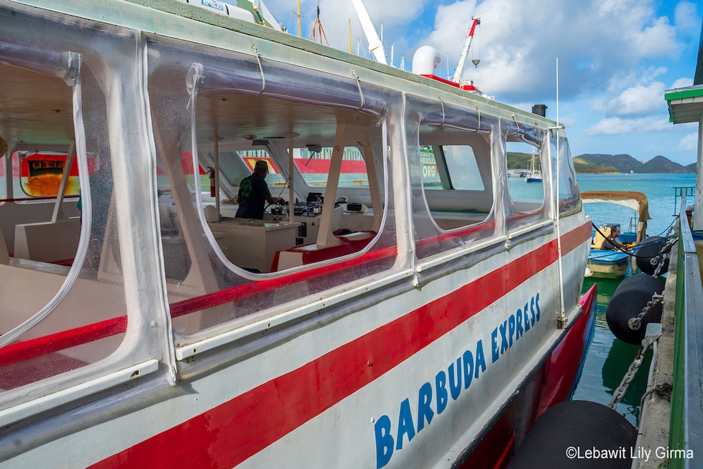 Antigua and Barbuda - Barbuda Express courtesy of Sunshine and Stilettos