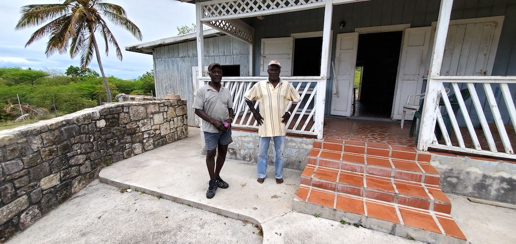 Antigua and Barbuda - Bernard and Ackley, long time friends