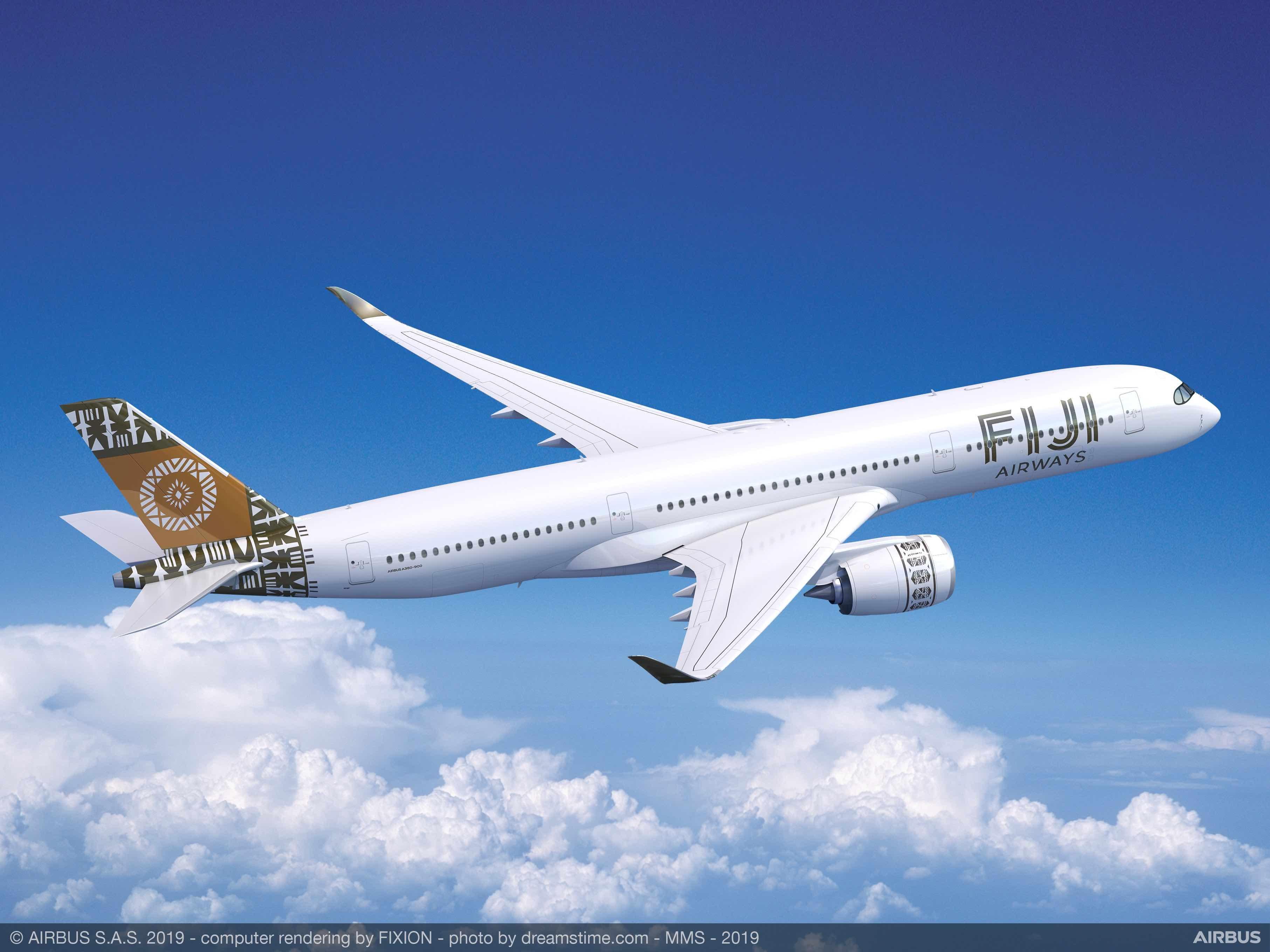 Fiji Airways (FJ) Airbus A350 XWB