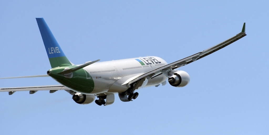 Level Airbus A330-200 Takeoff