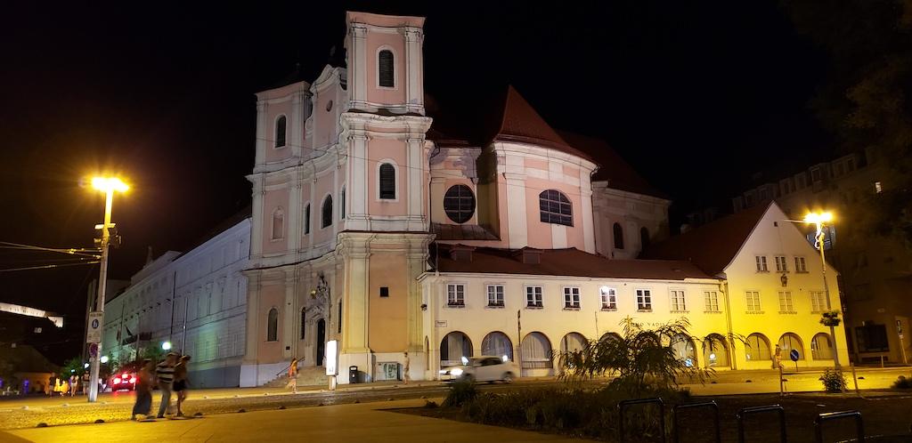 Bratislava, Slovakia - Old Cathedral of Saint John of Matha and Saint Felix of Valois