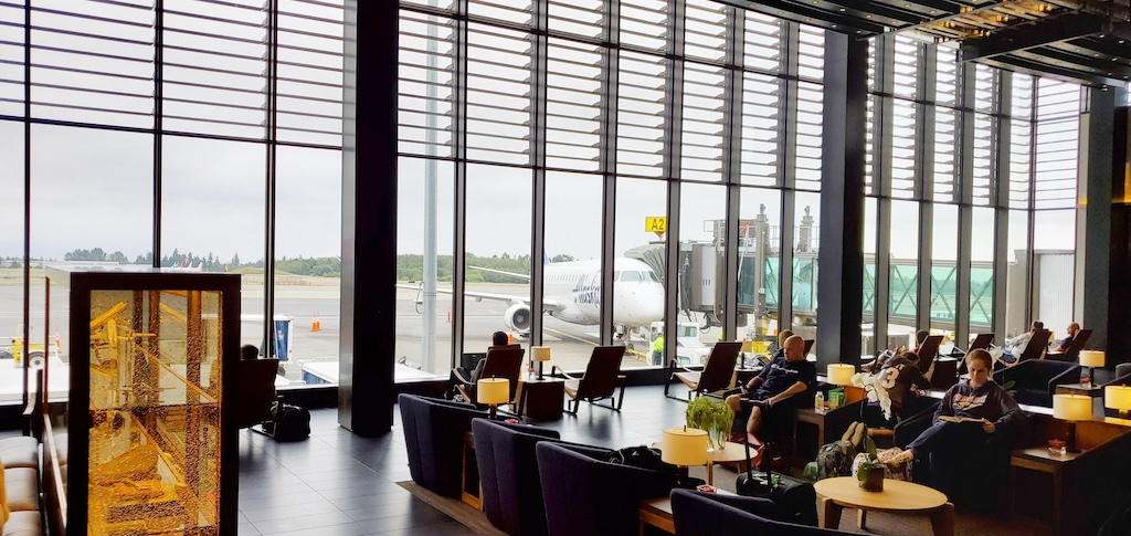 Paine Field [Snohomish County Airport] (PAE) -  Departure Area