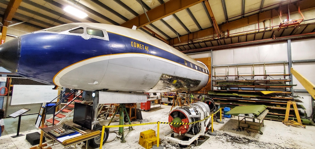 Paine Field [Snohomish County Airport] (PAE) - Museum of Flight Restoration Center BOAC Comet