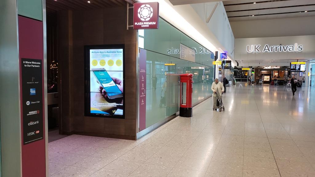 Airport Lounge - Plaza Premium London-Heathrow Terminal 2 Arrivals