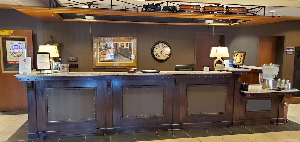 Best Western Premier Great Northern Front Desk in Helena, Montana
