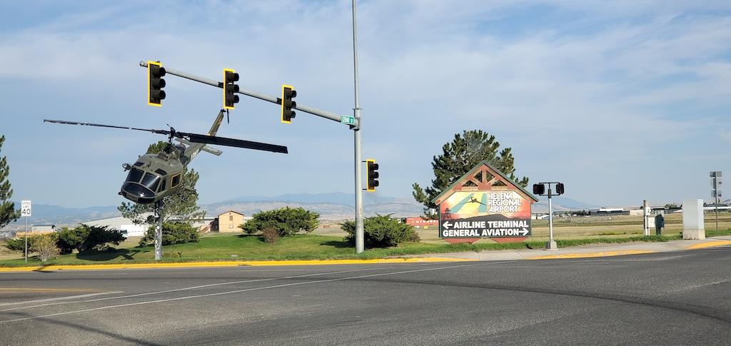 Helena Regional Airport in Helena, Montana Entrance