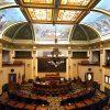 Montana State Capitol in Helena, Montana Senate Chamber