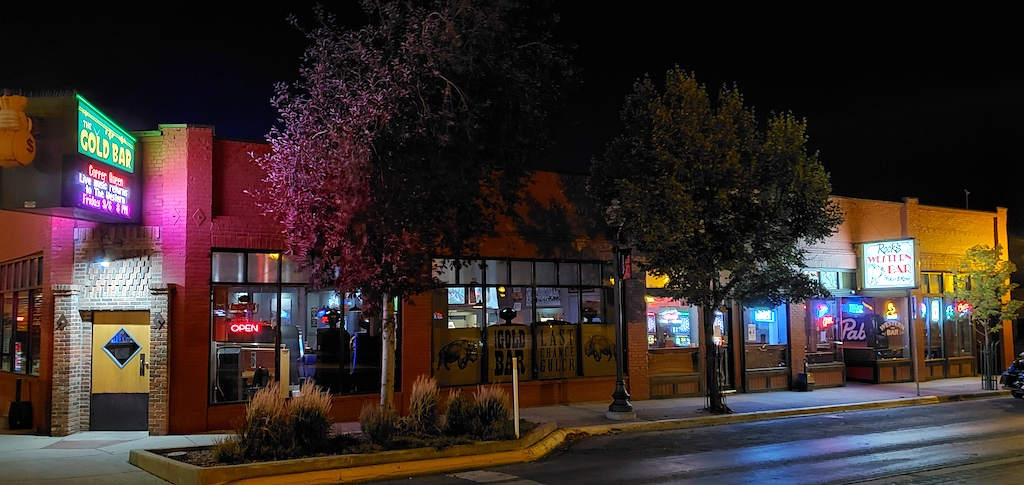 The Cold Bar and Rock's Western Bar in Helena, Montana