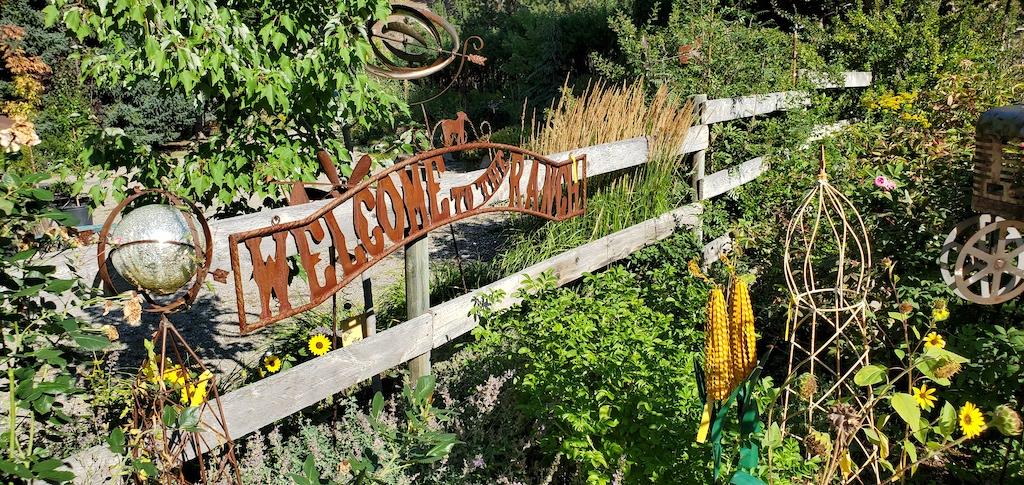 Tizer Gardens in Jefferson City near Helena, Montana