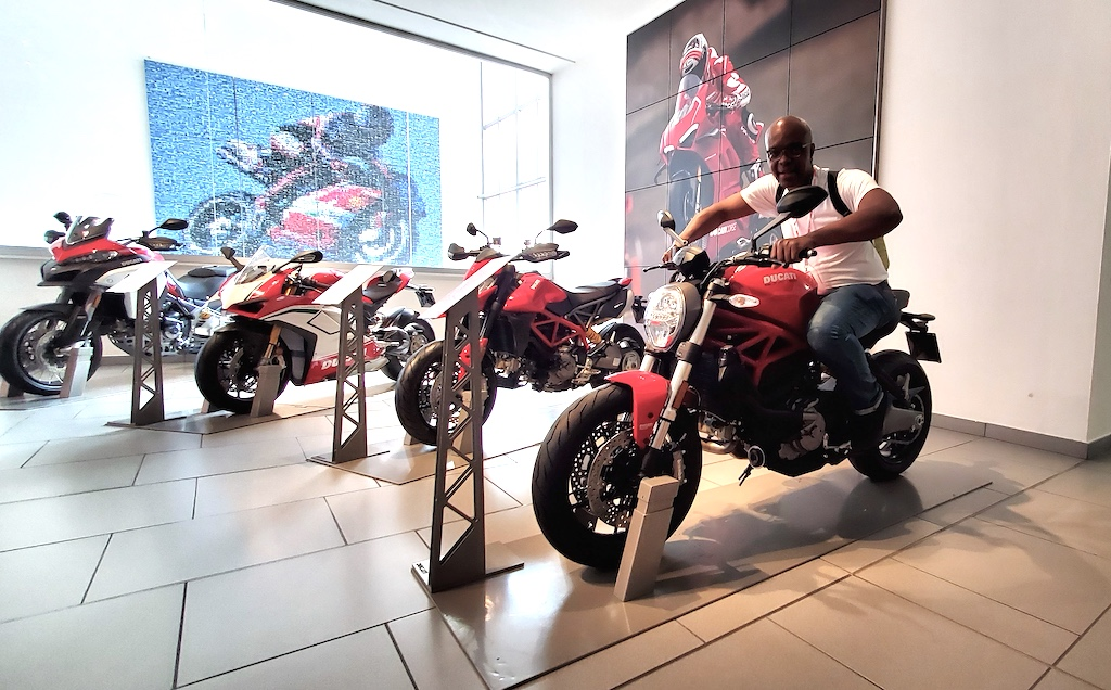 Ducati Museum and Factory Tour - Kerwin on Ducati