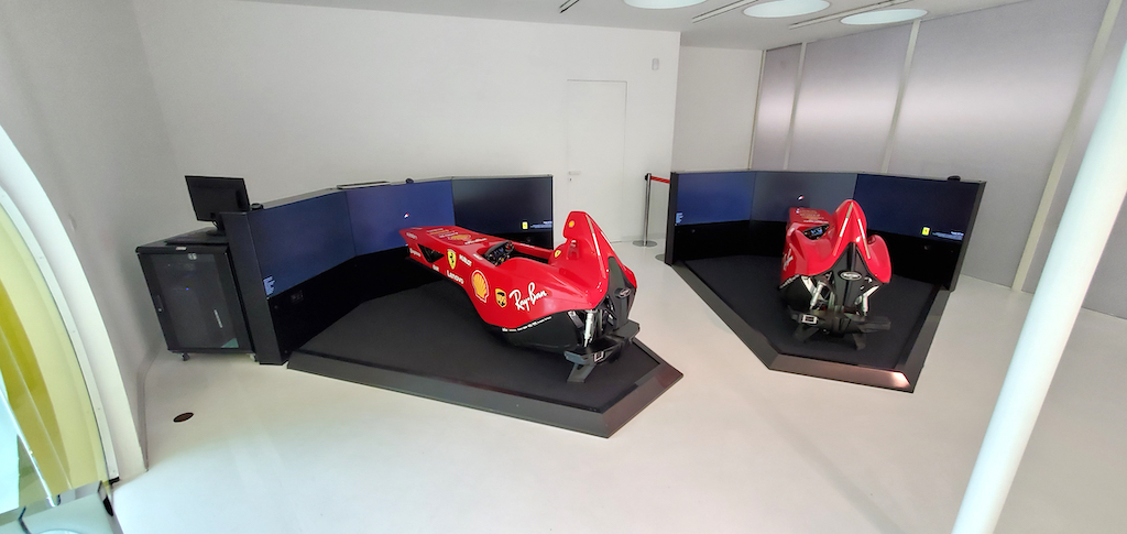 Enzo Ferrari Museum Flight Simulator