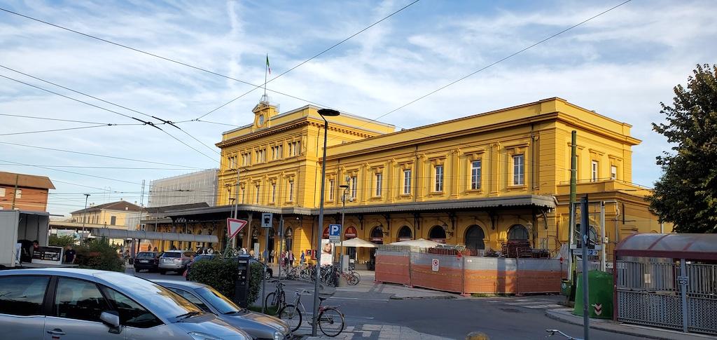 Modena, Italy Train Station
