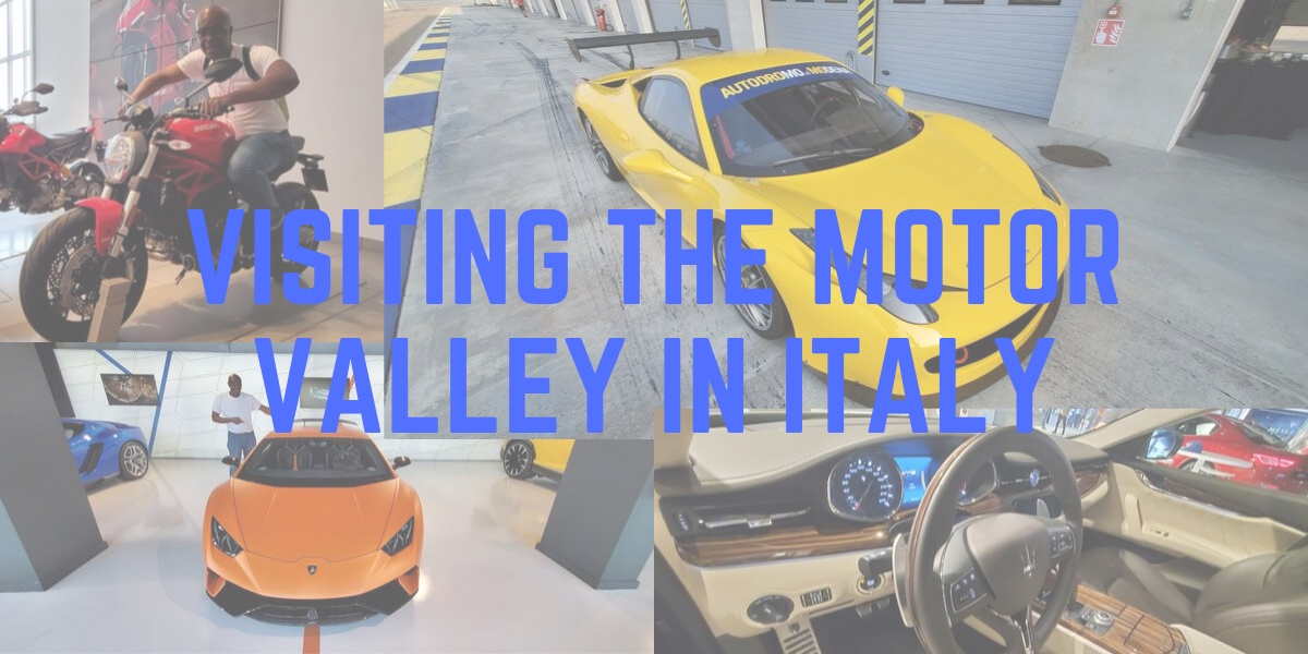 Visiting The Motor Valley, Italy