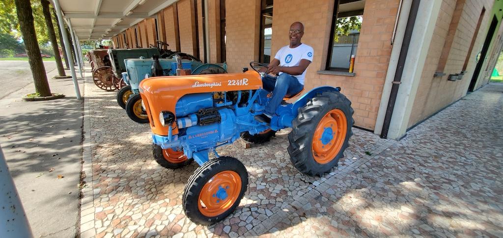 Panini Motor Museum - Lamborghini Tractor