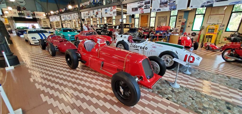 Panini Motor Museum - Old race cars