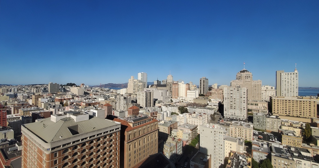 View from the Westin San Francisco Union Square