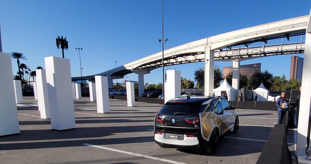 CES BMW i3 Urban Suite Exterior Autonomous