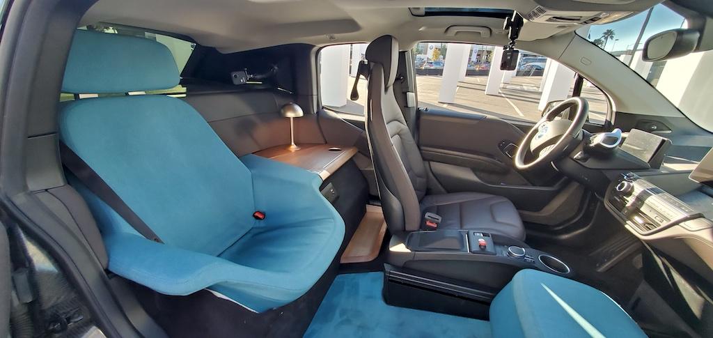 CES BMW i3 Urban Suite Interior - Autonomous