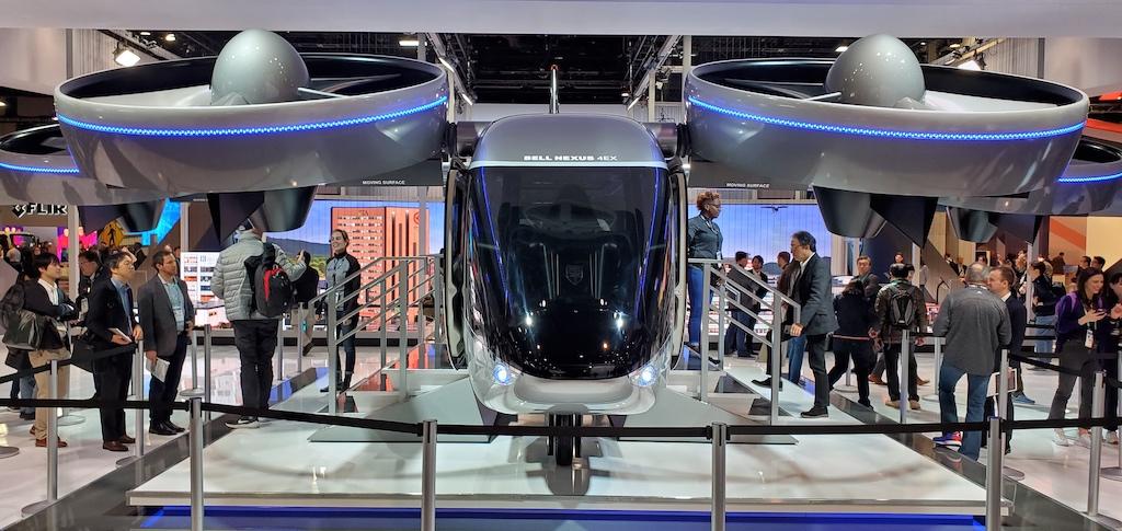 CES 2020 Bell Nexus 4EX Air Taxi