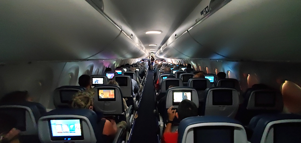 Delta Airbus A220 Interior