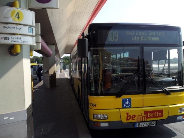 109 Bus at Berlin-Tegel, Germany (TXL)