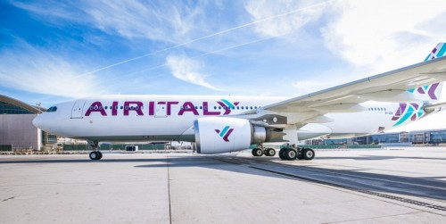 Air Italy Airbus A330 Taxiing