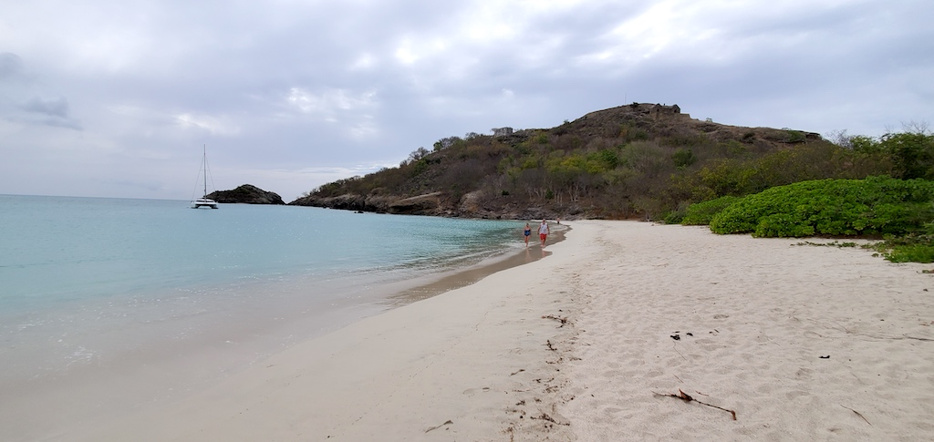 Antigua and Barbuda - Deep Bay and Fort Barrington