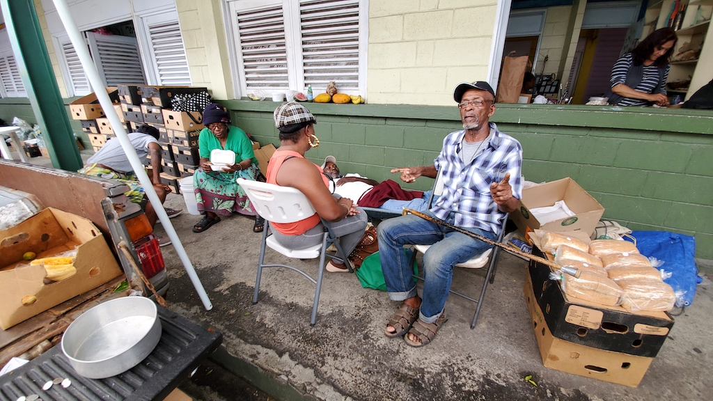 Antigua and Barbuda - People at the Market