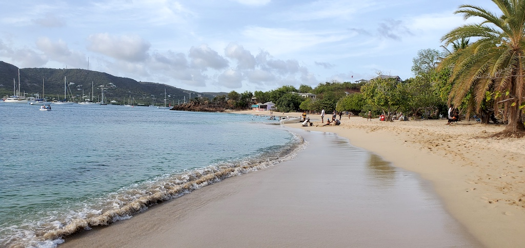 Antigua and Barbuda - Pigeon Point Beach