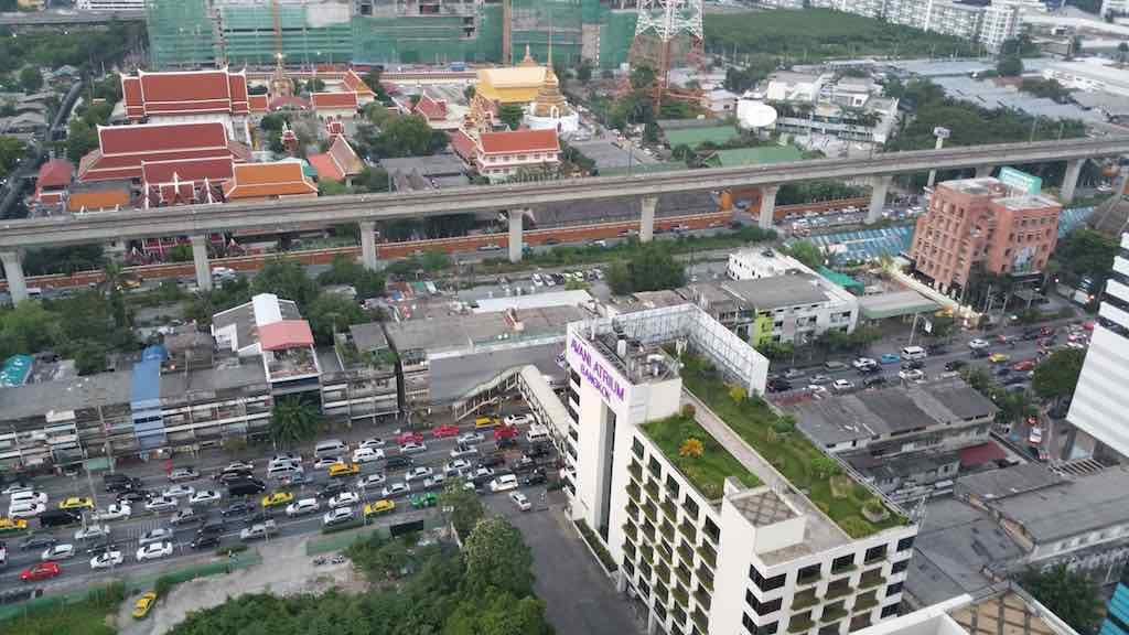 Avani ATRIUM Bangkok View from the Helipad