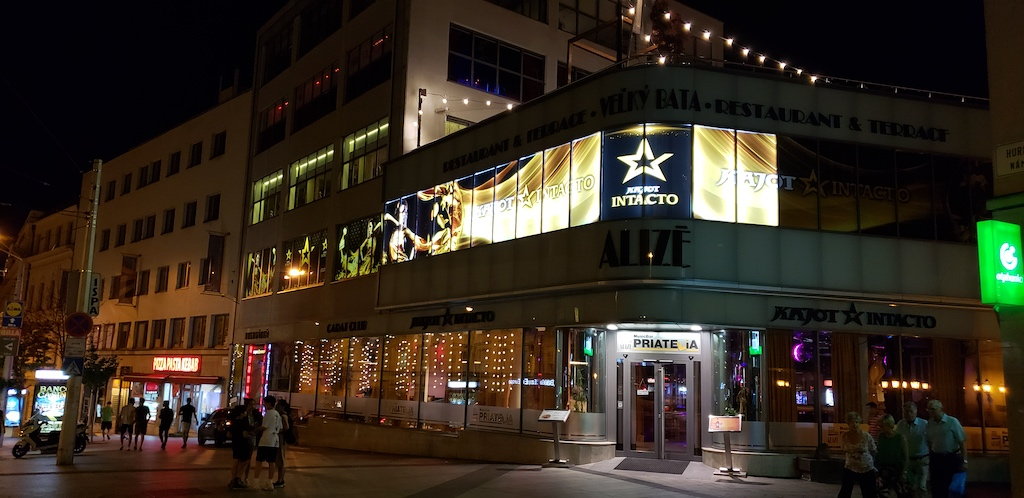 Bratislava, Slovakia - Entertainment District