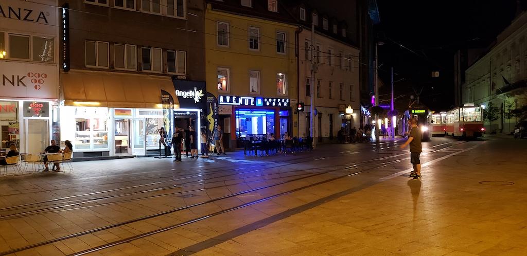 Bratislava, Slovakia - Entertainment District - Coffee Shop