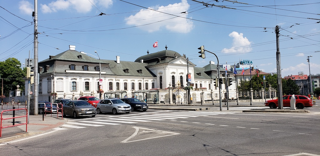 Bratislava, Slovakia - Grassalkovich Palace