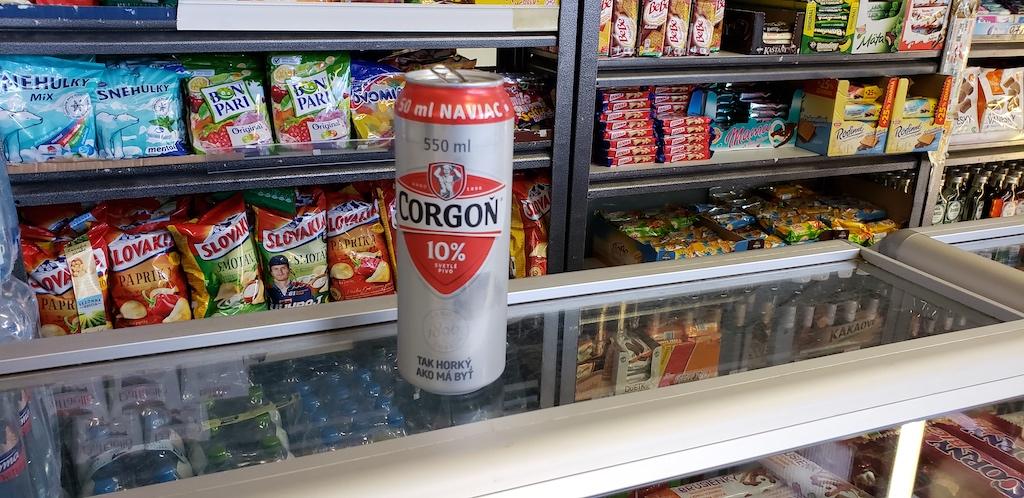 Bratislava, Slovakia - Train Station (hlavná stanica) - Corgon Beer