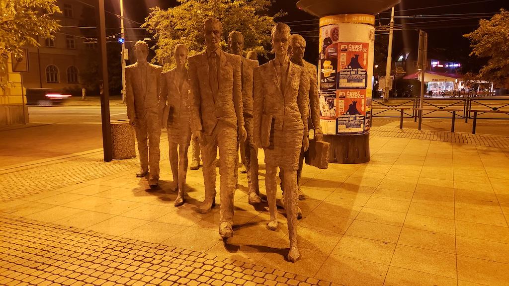 České Budějovice, Czech Republic - Humanoid