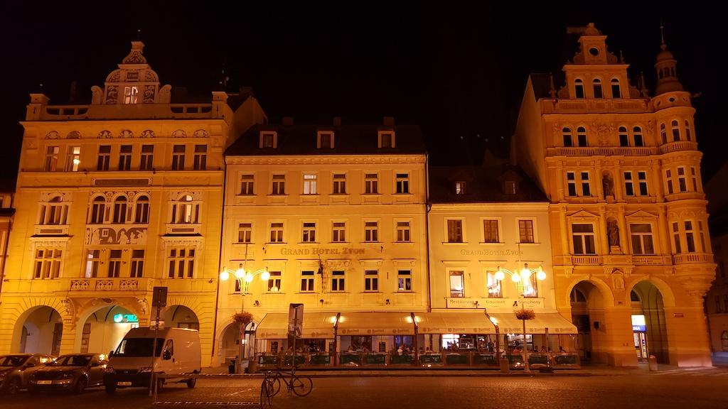 České Budějovice, Czech Republic - Grand Hotel Zvon