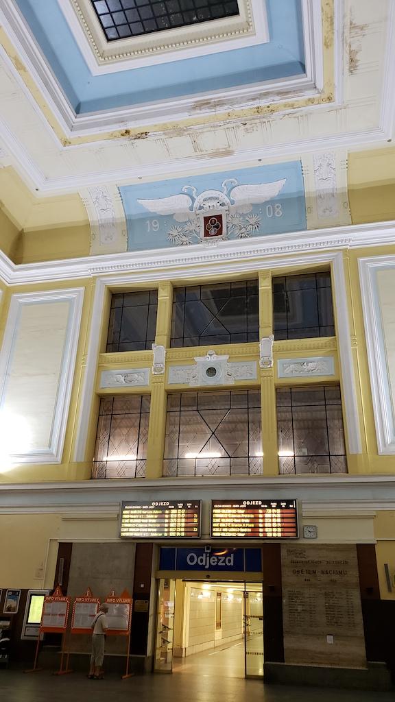 Český, Krumlov - Czech, Republic - Odjeza Station