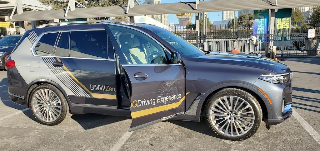 CES 2020 BMW x7 Zero Gravity Experience