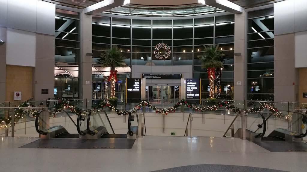 Christmas Tree - San Diego International Airport Arrival (SAN)