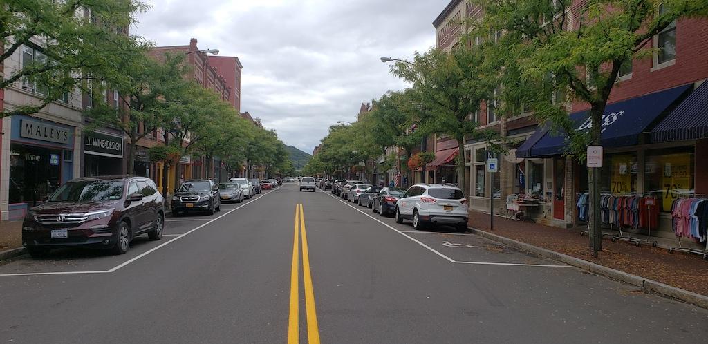 Corning, NY - A Look Down Main Street