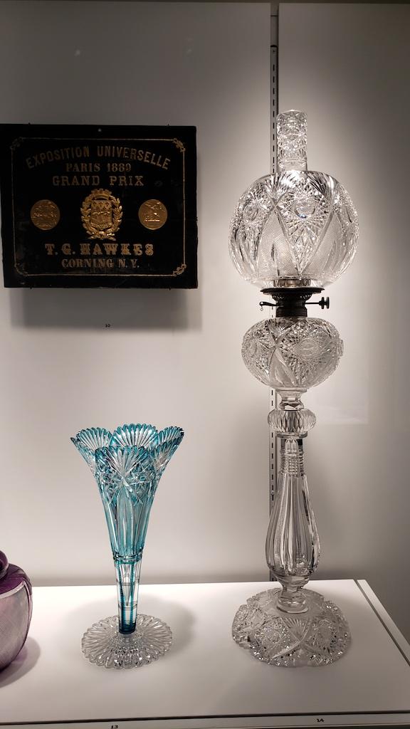 Corning, NY - Corning Museum of Glass - Glass Lamp