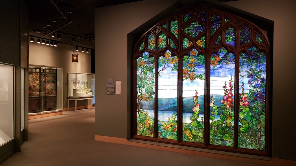 Corning, NY - Corning Museum of Glass - Stained Glass Window